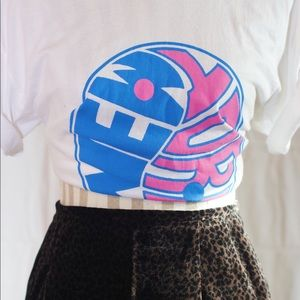 VINTAGE New York City CROP TOP TShirt on HANES 90s